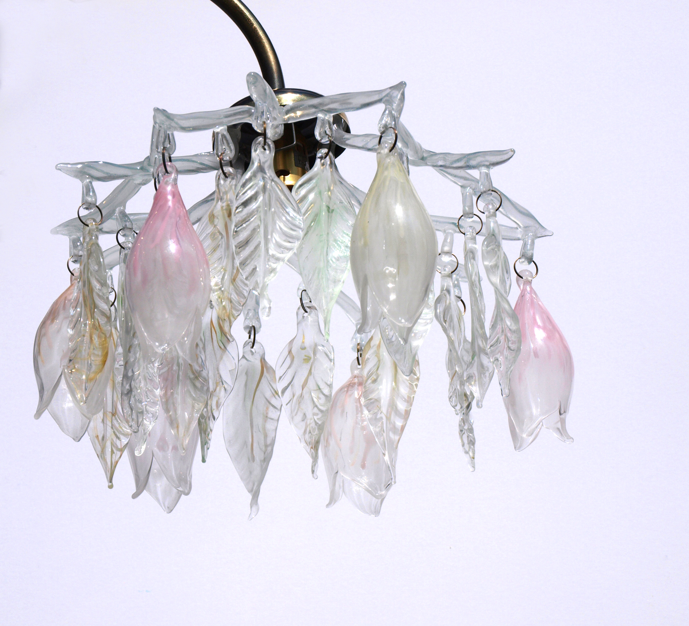 pale ghost glass chandelier shade  a flame with desire, Lighting ideas