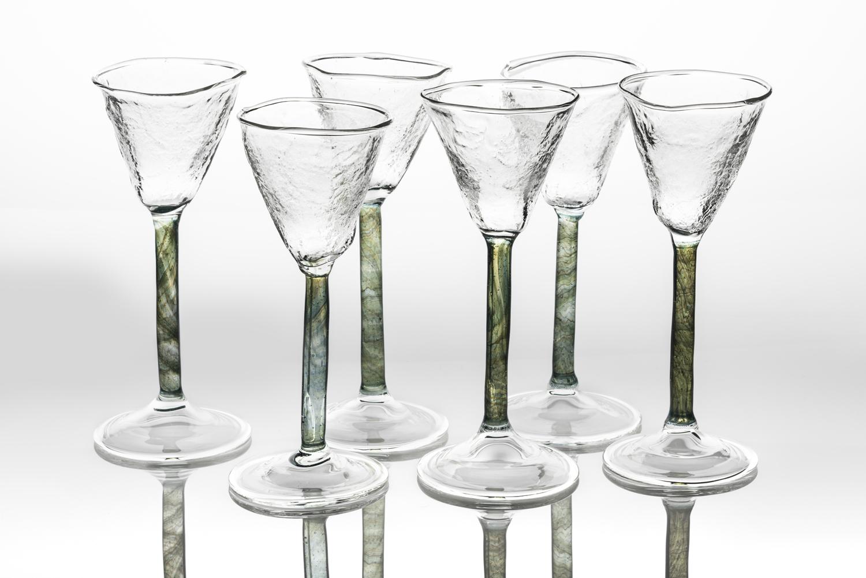 moss damson gin glasses