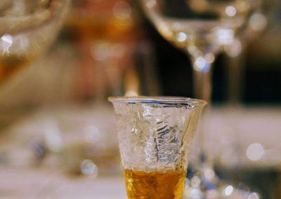 Fern glass of tokaj