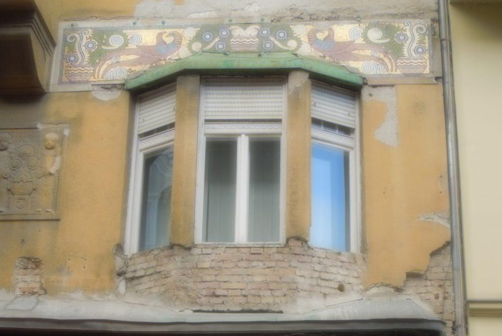 Budapest window detail
