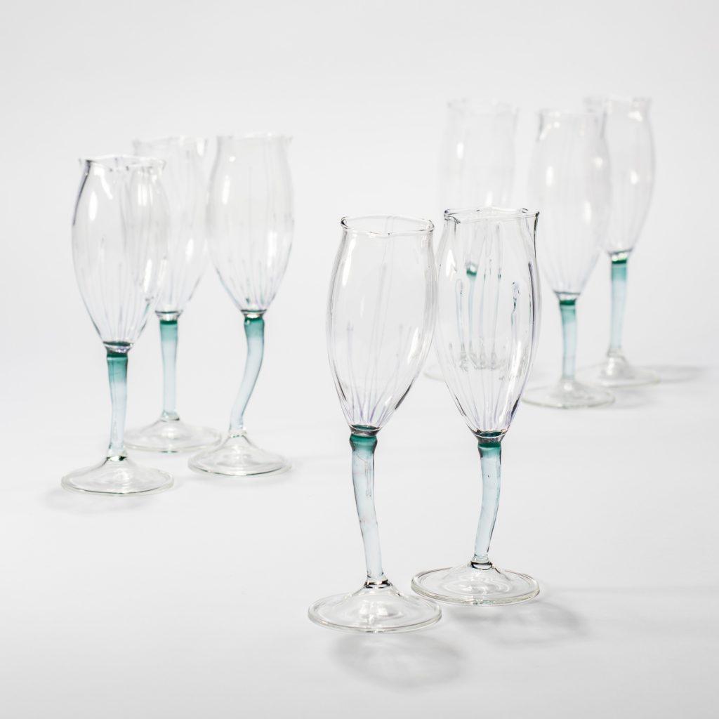 champagne tulip glasses