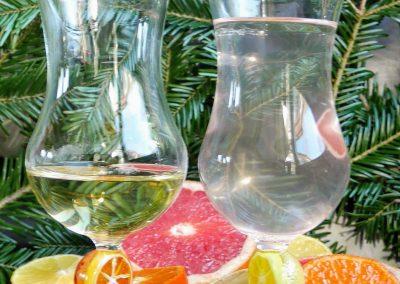 Citrus goblets