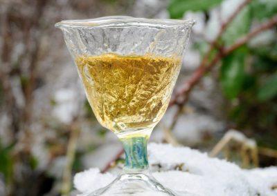 Moss texture occasional schnapps glass