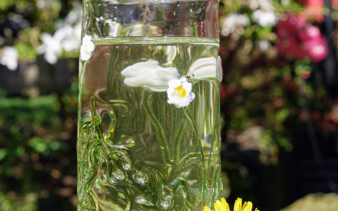 A Very Special Commission: Spring Floral Tumblers