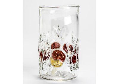 Scarlet elf cup tumbler